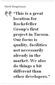Singerman Rockefeller Group PICOR Tucson